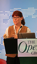 Sally Long, The Open Group